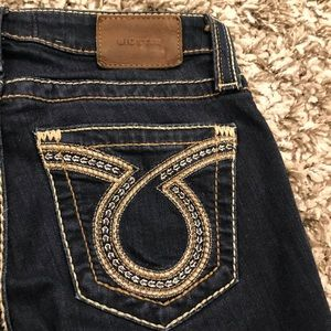 Big Star Liv Skinny Omega Pocket Long Jeans *